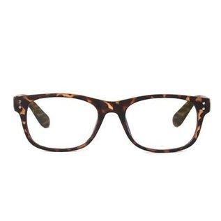DM Merchandising Inc DM Merchandising Optimum Optical Spectrum Shield Blue Light Glasses Tortoise Shell Uptown 1.50