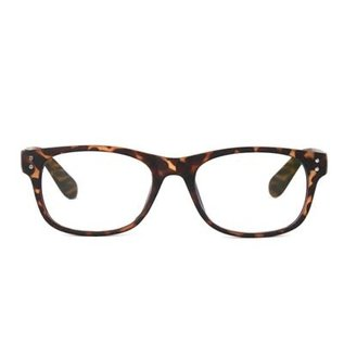 DM Merchandising Inc DM Merchandising Optimum Optical Spectrum Shield Blue Light Glasses Tortoise Shell Uptown Powerless