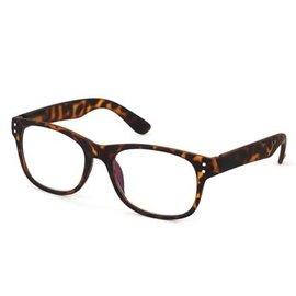 DM Merchandising Inc DM Merchandising Optimum Optical Spectrum Shield Blue Light Glasses Tortoise Shell Uptown 2.50