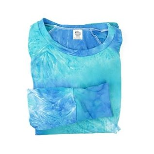 DM Merchandising Inc DM Merchandising Hello Mello Top Dye's The Limit Aqua M/L