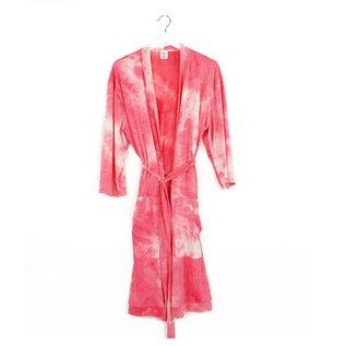 DM Merchandising Inc DM Merchandising Hello Mello Robe Dye's The Limit Coral L/XL