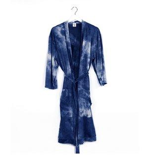 DM Merchandising Inc DM Merchandising Hello Mello Robe Dye's The Limit Navy S/M