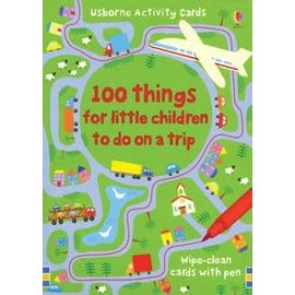Usborne Usborne 100 Things to do on a Trip Little Children Activity Cards