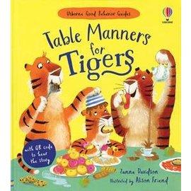 Usborne Usborne Table Manners for Tigers (QR)