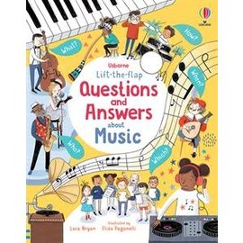 Usborne Usborne Lift-the-Flap Questions and Answers about Music (IR)