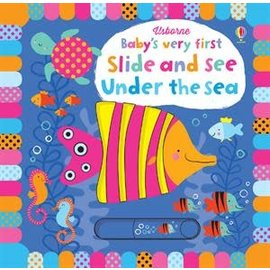 Usborne Usborne Baby s Very First Slide and See Under the Sea