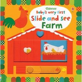 Usborne Usborne Baby s Very First Slide and See Farm