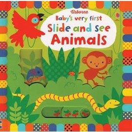 Usborne Usborne Baby s Very First Slide and See Animals