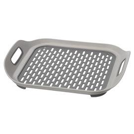 OGGI OGGI Elevated Sink Mat + Drying Tray gray 14.5x 2 inch