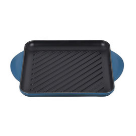 Le Creuset Le Creuset Square Grill Pan 9.5 inch Deep Teal