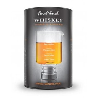Final Touch Whiskey Jigger Stopper