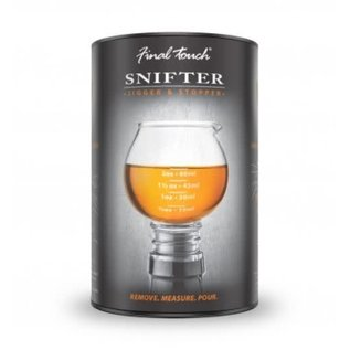 Final Touch Snifter Jigger Stopper 3-in-1