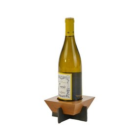 Oak & Olive (formerly Picnic Plus) Picnic Plus Village Bottle Stand Cherry CLOSEOUT