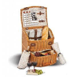 Oak & Olive (formerly Picnic Plus) Oak and Olive Exeter 4 Person Picnic Basket