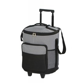 Oak & Olive (formerly Picnic Plus) Oak and Olive Dash Rolling Cooler Houndstooth CLOSEOUT