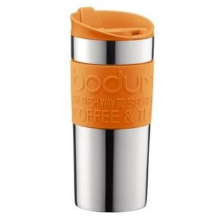 Bodum Bodum Travel Mug 12 oz Orange CLOSEOUT