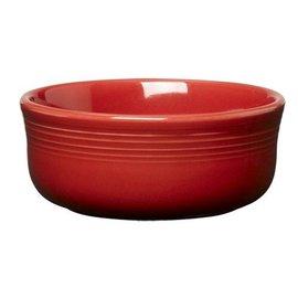 Fiesta Fiesta Chowder Bowl 18 Oz Scarlet