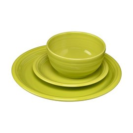Fiesta Fiesta 3 Piece Place Setting Bistro Lemongrass
