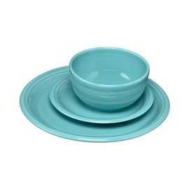 Fiesta Fiesta 3 Piece Placesetting Bistro Turquoise