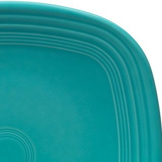 Fiesta Fiesta Square Luncheon Plate Turquoise