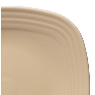 Fiesta Fiesta Square Salad Plate Ivory DISCONTINUED