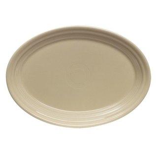 Fiesta Fiesta Oval Platter 9.5 Inch Ivory