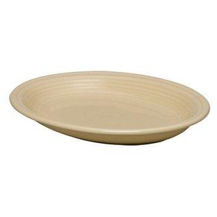 Fiesta Fiesta Oval Platter, 11.5 Inch Ivory