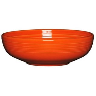 Fiesta Fiesta Large Bistro Bowl 68 Oz Poppy