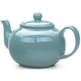 RSVP RSVP Stoneware Teapot Turquoise