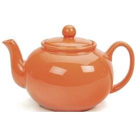 RSVP RSVP Stoneware Teapot Orange