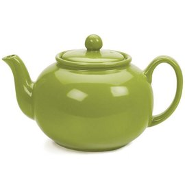 RSVP RSVP Stoneware Teapot Green DNR
