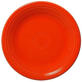 Fiesta Fiesta Dinner Plate 10.25 Inch Poppy