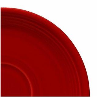 Fiesta Fiesta Saucer 5 Inch Scarlet