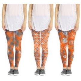 Fanfare Fanfare Legging Orange Assorted single CLOSEOUT