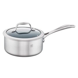 Zwilling J.A. Henckels Zwilling  Spirit 3-ply Stainless Steel Ceramic Nonstick 2 Qt Saucepan with Lid