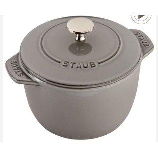 Staub Staub Petite French Oven 1.5 Qt Graphite Grey