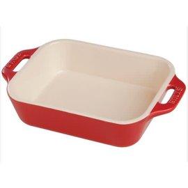 Staub Staub Ceramic Rectangular Baking Dish 10.5 x 7.5 in Cherry