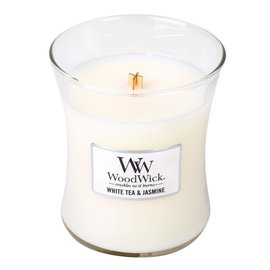 WoodWick Candle WoodWick Candle Medium White Tea & Jasmine