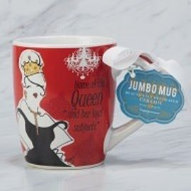 Certified International Certified International Home of the Queen Jumbo Mug 24 ounces CLOSEOUT