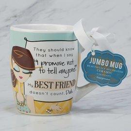Certified International Certified International My Best Friend Jumbo Mug 24 ounces CLOSEOUT