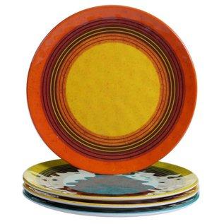 Certified International Certified International Sedona Melamine Salad Plate 9 inch Assorted CLOSEOUT