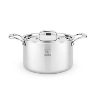 Heritage Steel/Hammer Stahl Heritage Steel 5 Qt. Stock Pot with Cover