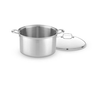 Heritage Steel/Hammer Stahl Heritage Steel Stock Pot with Cover 16 Qt.