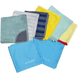 E-Cloth/Tad Green E-Cloth Home Cleaning Set of 8