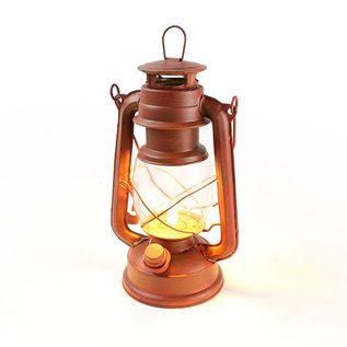 Alliance Sports Group WeatherRite Old Red Lantern w/ Flickering LED Candle