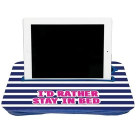Fashionit Fashionit Tablet Tray Blue Stripe CLOSEOUT