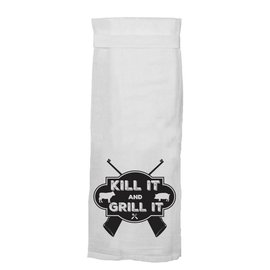 Twisted Wares Twisted Wares Hang Tight Flour Sack Towels Kill and Grill
