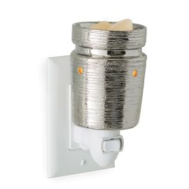 Candle Warmers, Etc. Candle Warmers Pluggable Fragrance Warmer Brushed Chrome