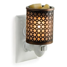 Candle Warmers, Etc. Candle Warmers Metal Pluggable Fragrance Warmer Moroccan