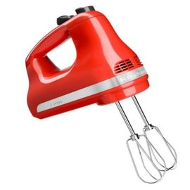 KitchenAid KitchenAid Hand Mixer 5 Speed Hot Sauce KHM512HT